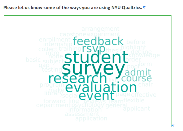 Survey of How Users are Deploying Qualtrics